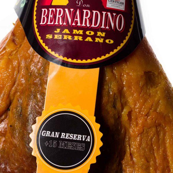 comprar-online-jamon-con-pata-serrano-gran-reserva-don bernardino-www.donbernardino.es