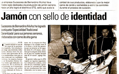 noticia-jamon-serrano-donbernardino-etg-periodico-murcia.www.donbernardino.es